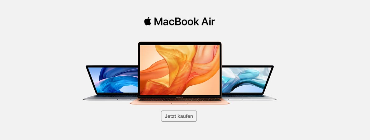 Das neue Macbook Air bei SATURN