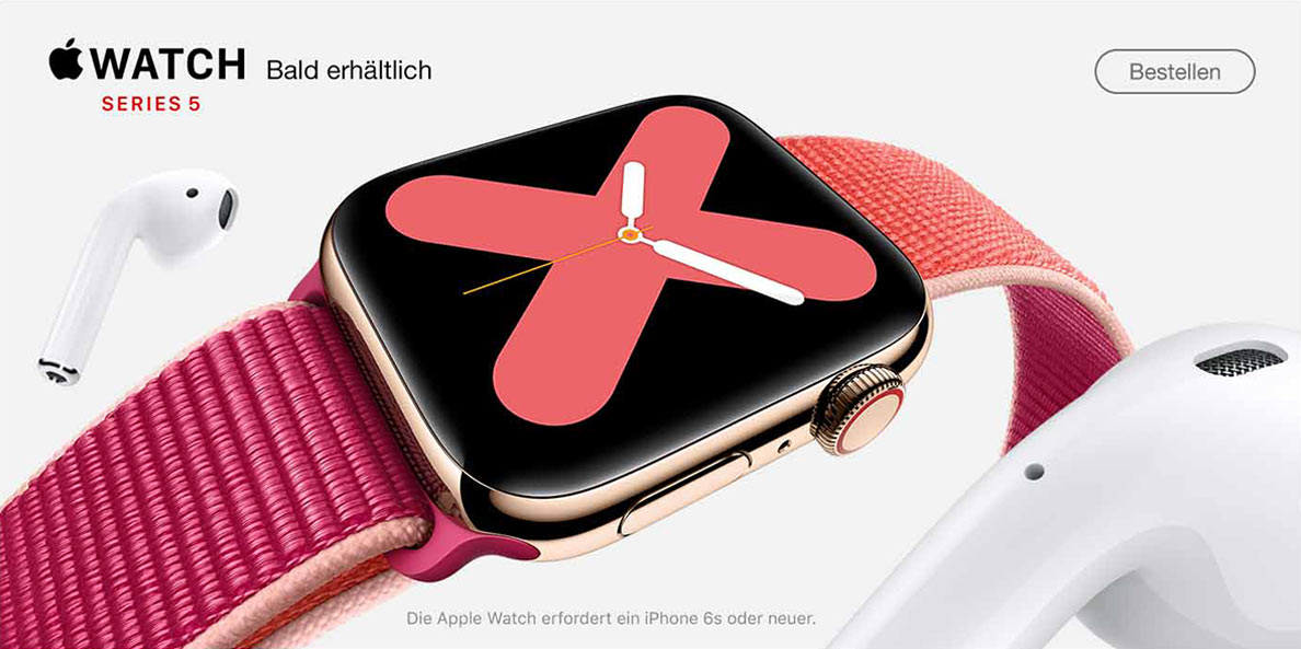 Apple WatchS5 bei SATURN vorbestellen