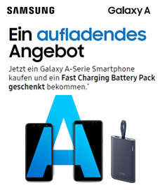 Samsung Galaxy A + Battery Pack