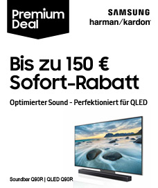 Samsung QLED TV +  Soundbar